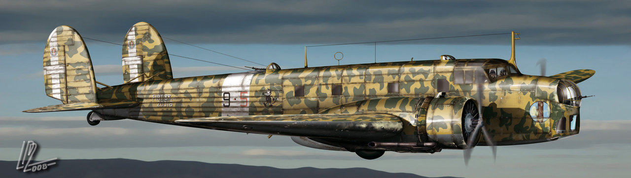 Gomez Luis David. Бомбардировщик Fiat BR 20.
