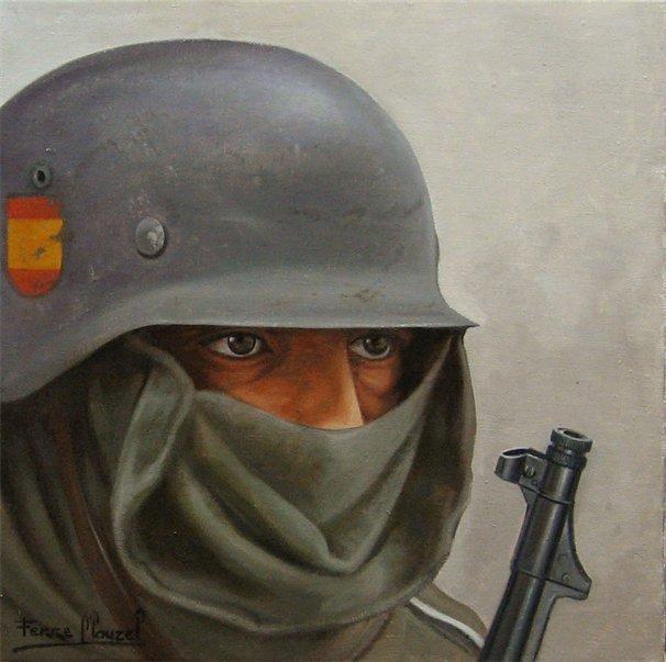 Clauzel José-Ferré. Солдаты «Голубой дивизии».