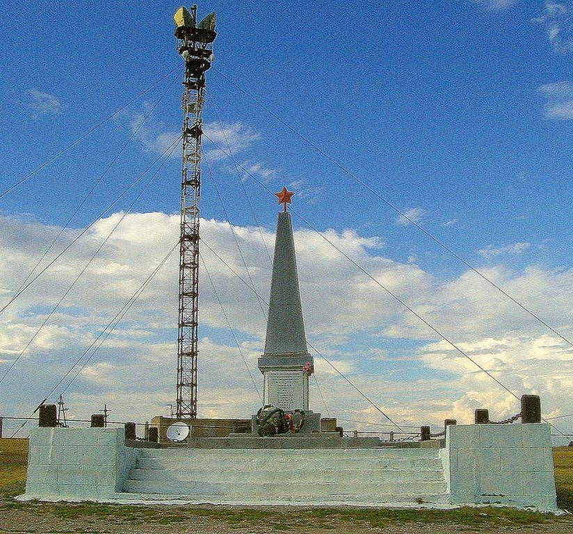 с. Денисовка. Памятник воинам, погибшим в годы Великой Отечественной войны.