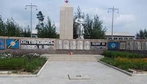 с. Весёлая Роща Железинского р-на. Памятник воинам-землякам.
