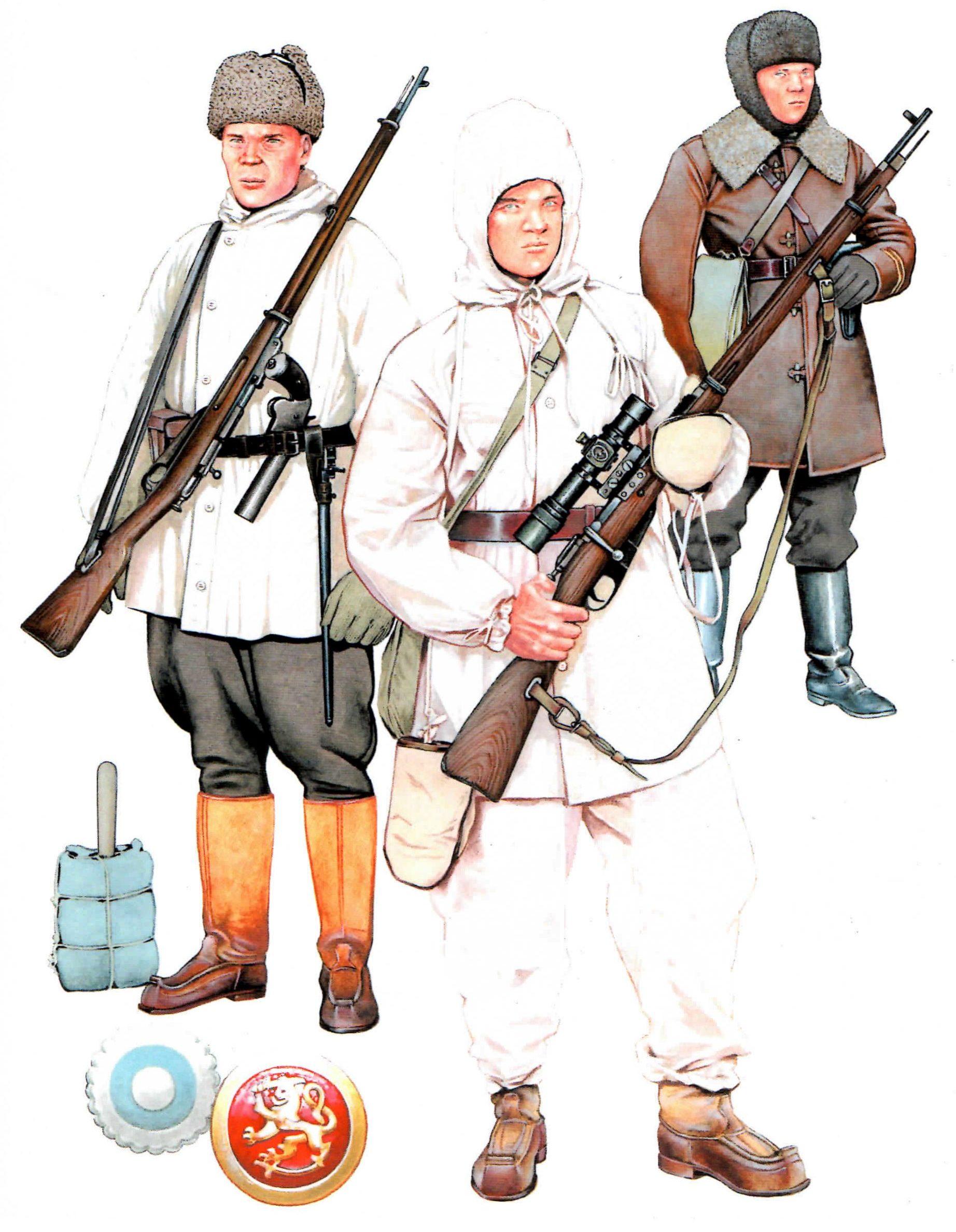 Ciordia Juan Carlos. Финская снайперская группа.