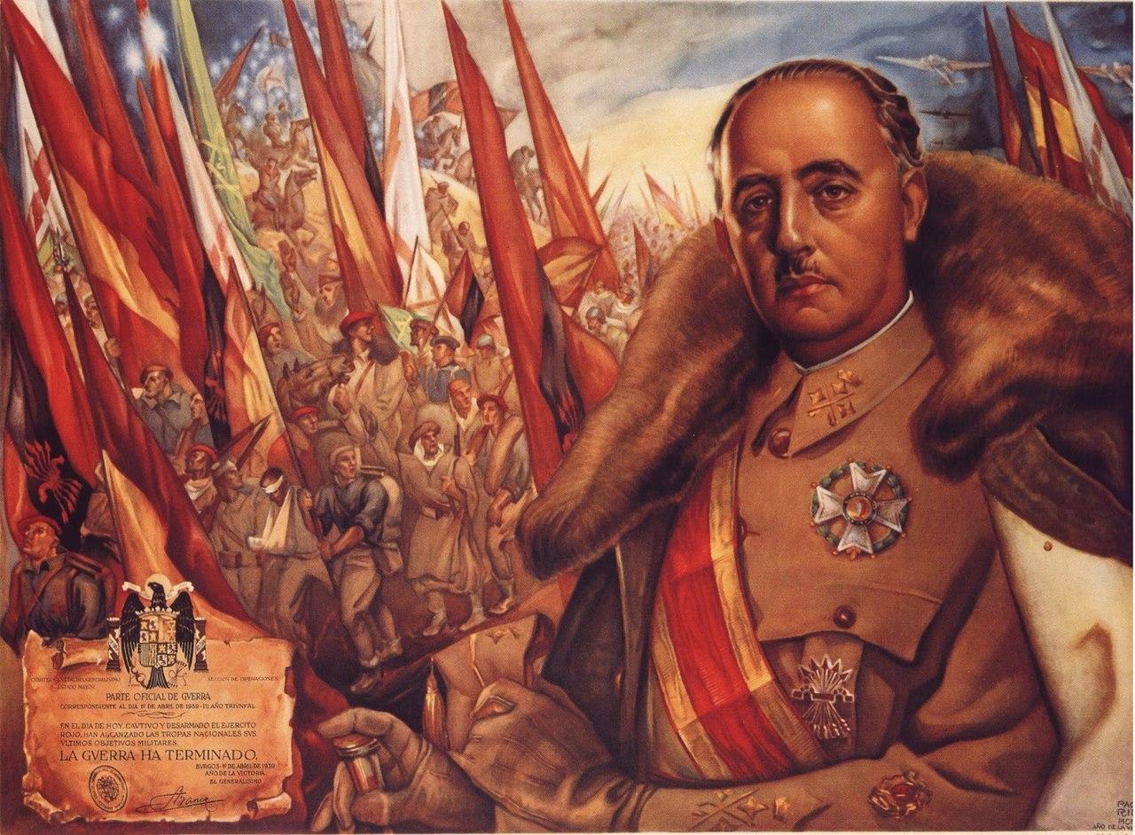 Ibera Paco. Франсиско Франко. Война закончилась.