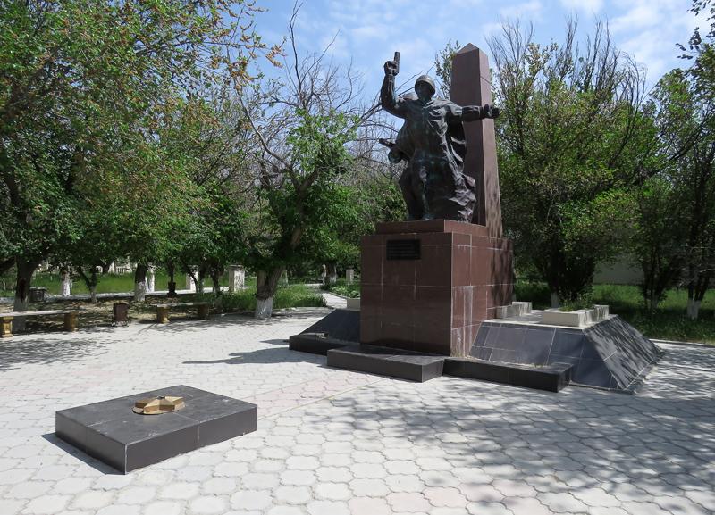 г. Форт-Шевченко Тупкараганского р-на. Мемориал воинам, погибших в годы Великой Отечественной войны.