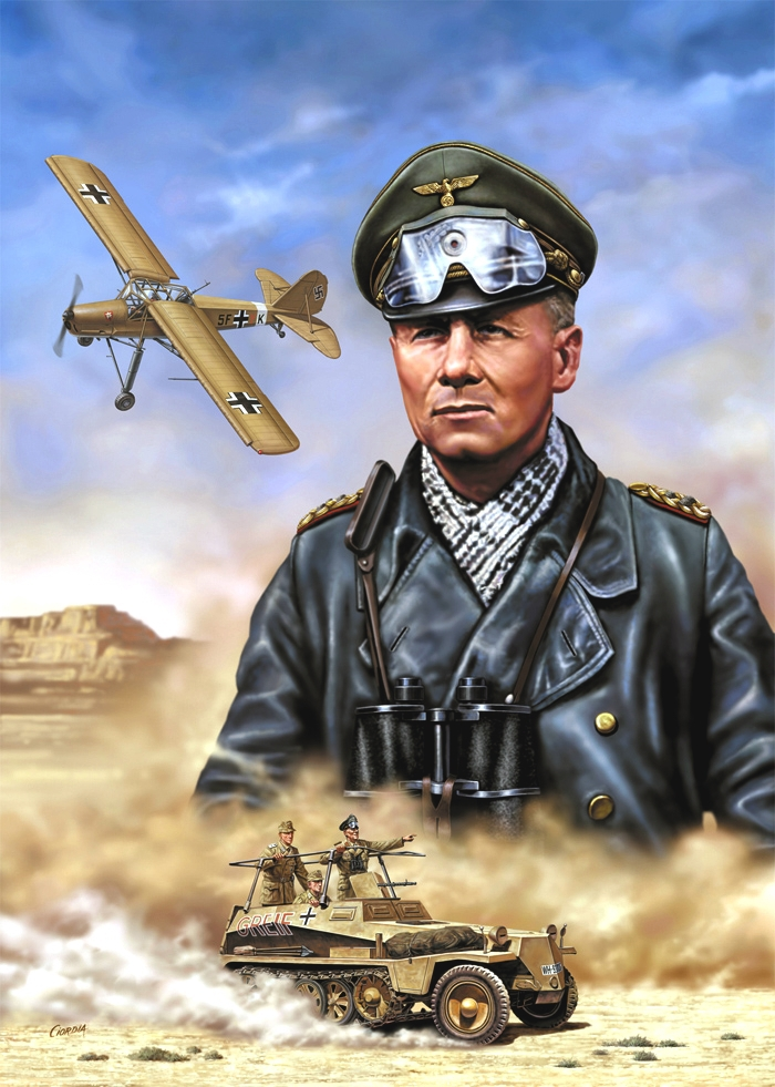 Ciordia Juan Carlos. Генерал Erwin Rommel.