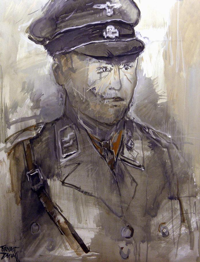 Descals Ernest. Немецкие офицеры.