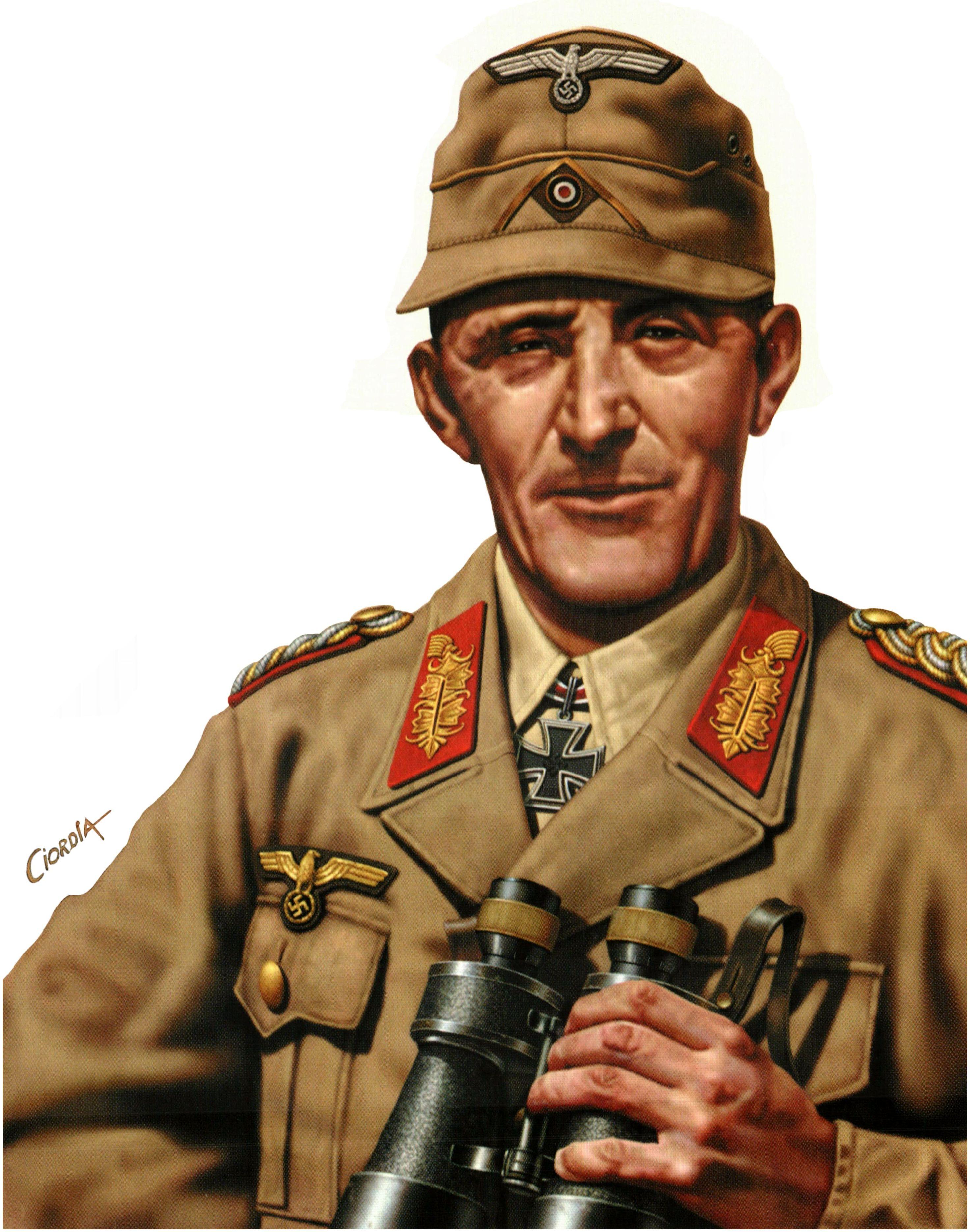 Ciordia Juan Carlos. Генерал Ritter von Thoma.