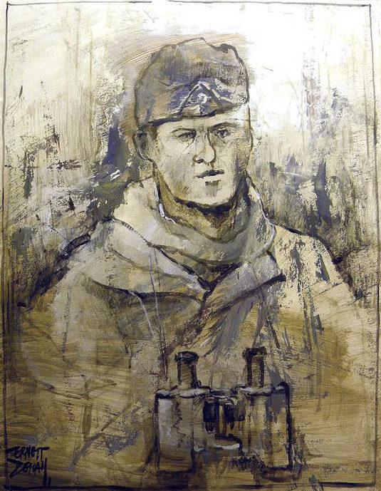 Descals Ernest. Немецкие солдаты.