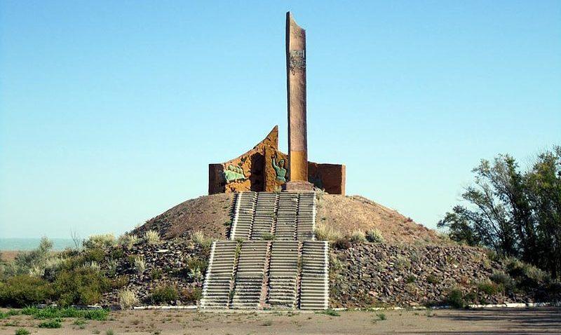 г. Приозёрск. Памятник воинам, погибшим в годы Великой Отечественной войны.