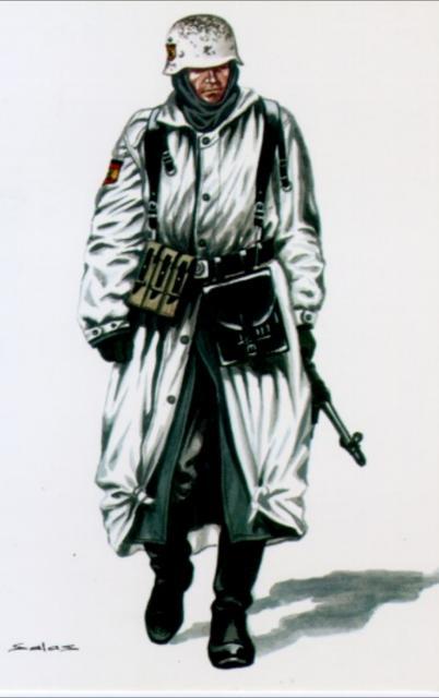 Salas Delfín. Испанский доброволец.