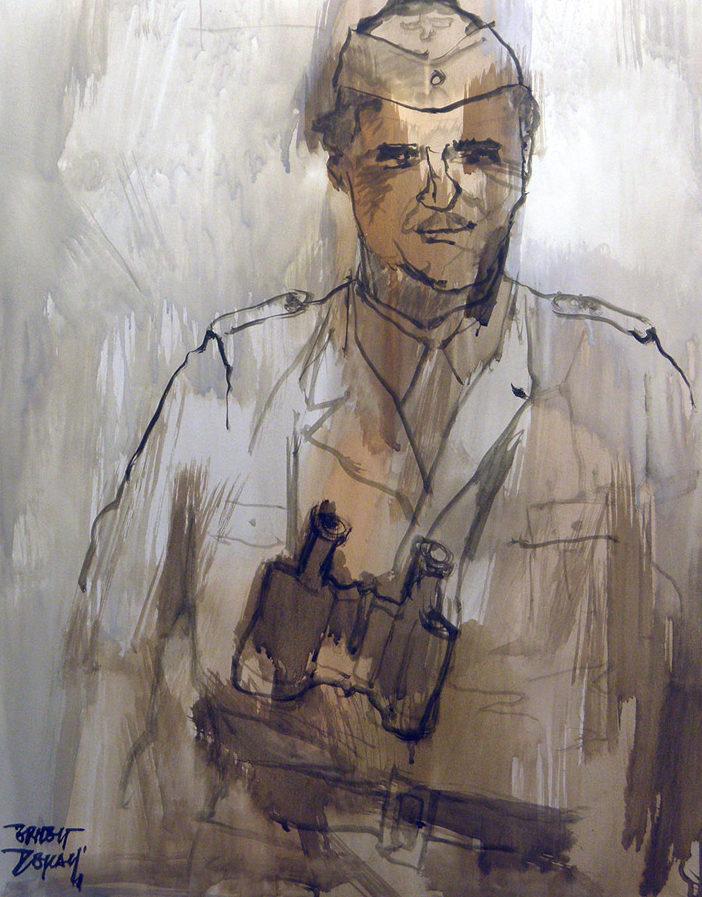 Descals Ernest. Испанский офицер.