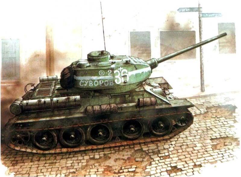 Sarson Peter. Танк Т-34-85.