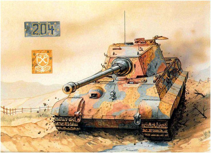 Sarson Peter. Танк Tiger II.