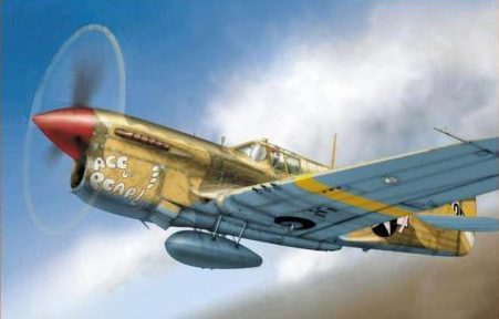 Dekker Thierry. Истребитель Curtiss P-40L.