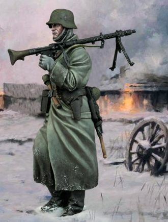 Ferrer-Dalmau Augusto. Пулеметчики.