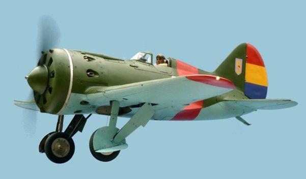 Segrelles Vicente. Истребитель И-16.