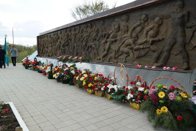 Фрагмент мемориала.