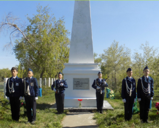 с. Песчаное Качирского р-на. Памятник воинам, погибшим в годы Великой Отечественной войны.