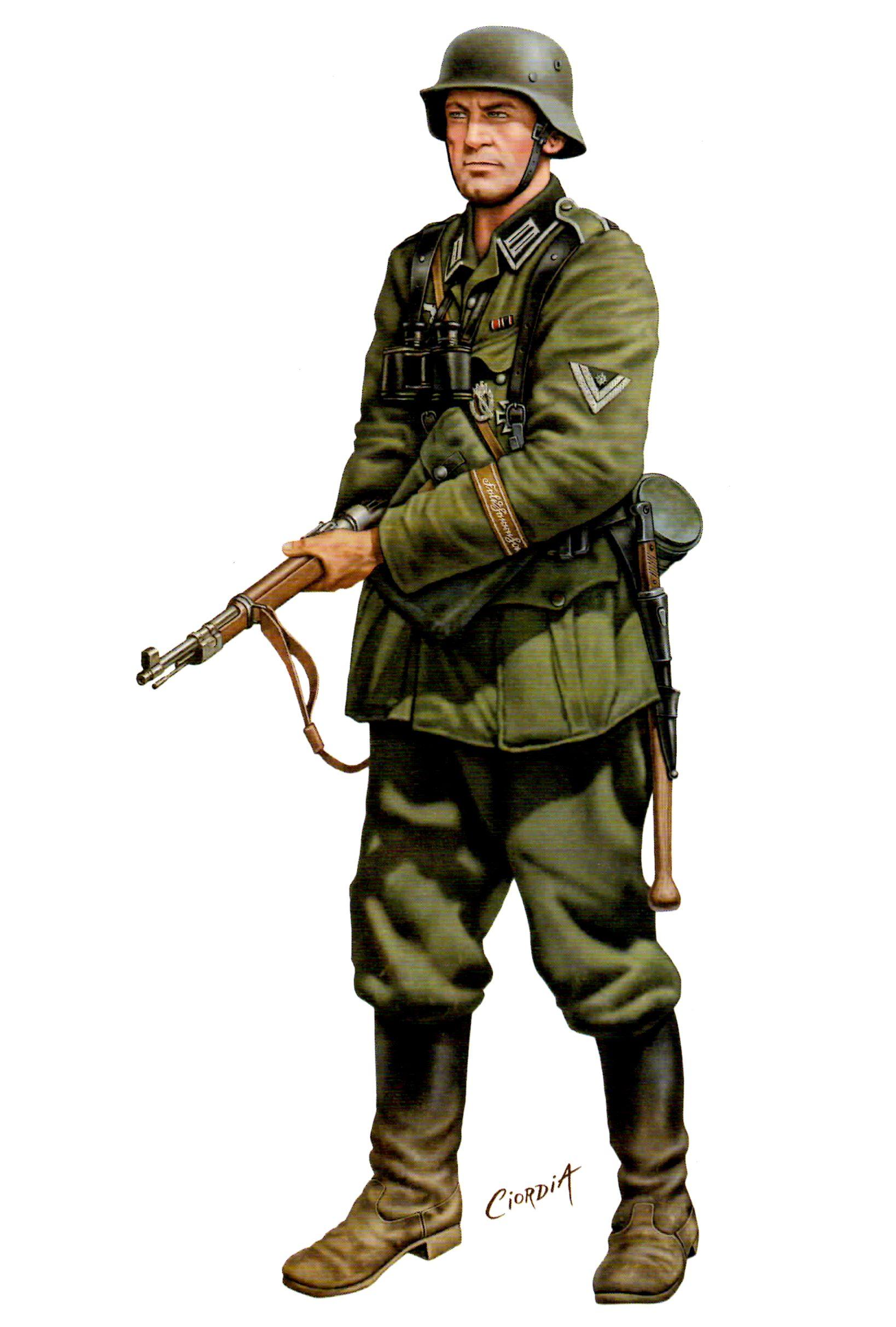Ciordia Juan Carlos. Немецкие солдаты.