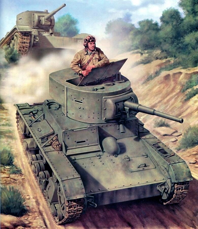 Ciordia Juan Carlos. Советские танки.