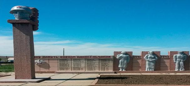 с. Зевакино Шемонаихинского р-на. Памятник ветеранам Великой Отечественной войны.