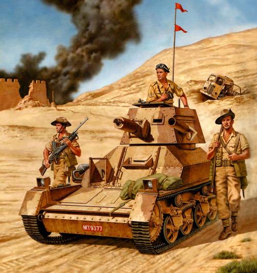 Ciordia Juan Carlos. Легкий танк Mk.I Bardia.