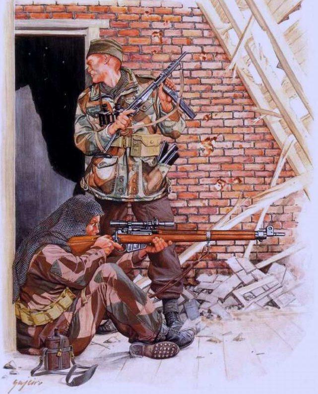Bujeiro Ramiro. Британская снайперская группа.