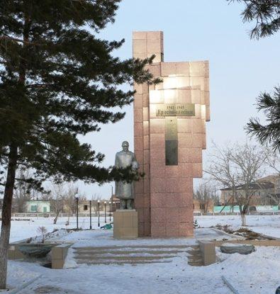 с. Коктобе (Белогорье) Майского р-на. Мемориал в парке Победы воинам, погибшим в годы Великой Отечественной войны.