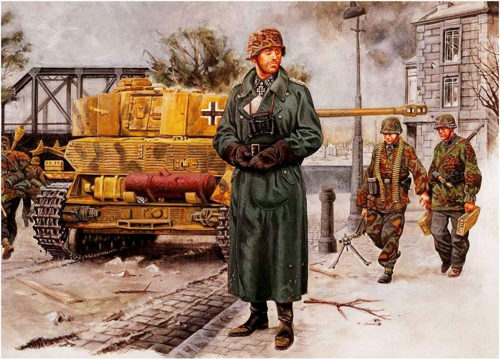 Bujeiro Ramiro. Танковая дивизия SS в Вене.
