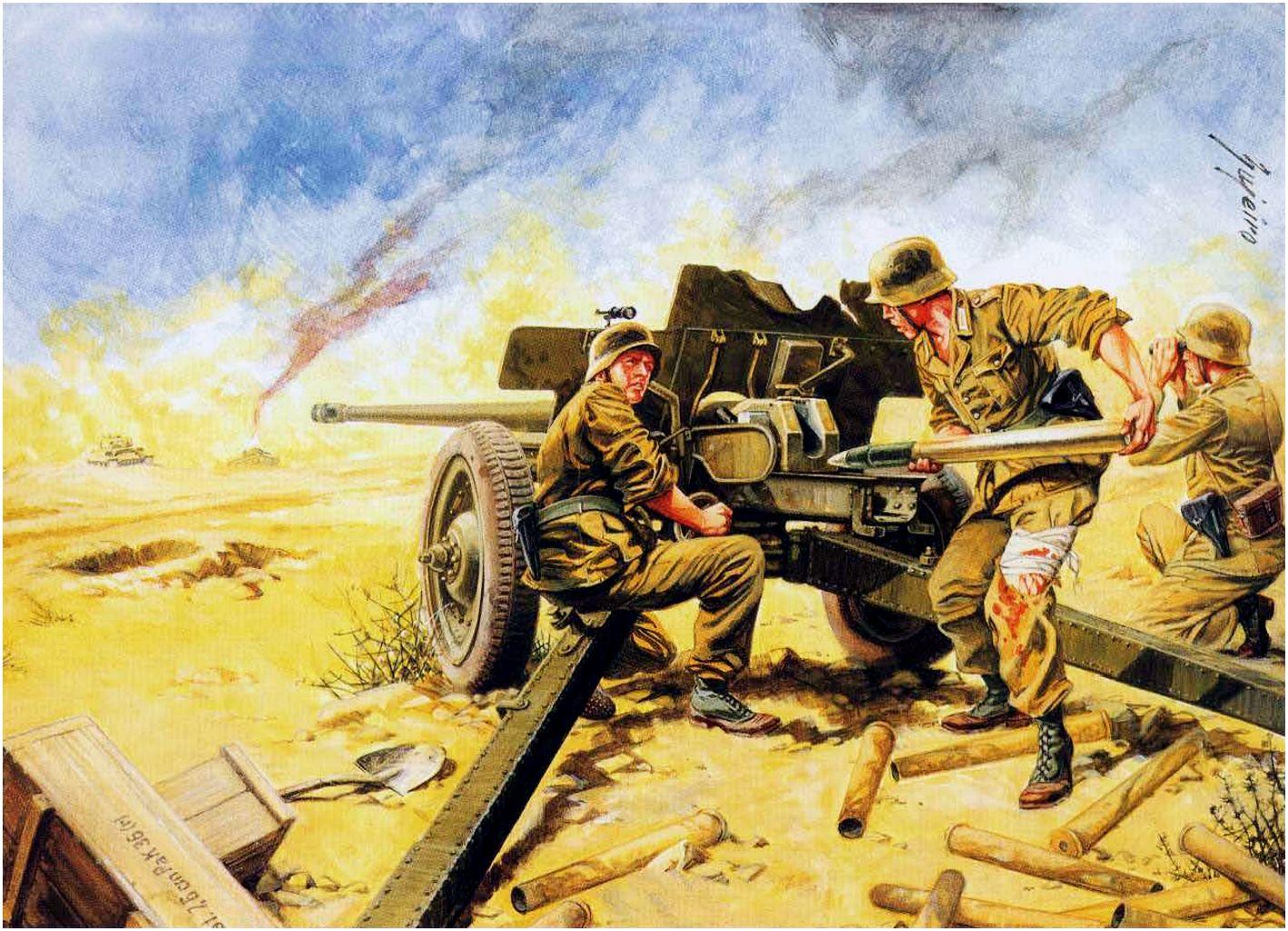 Bujeiro Ramiro. Противотанковое орудие PaK 36(r) 7,62cm.