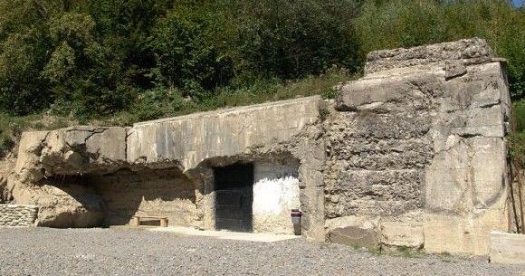 Главный вход в бункер