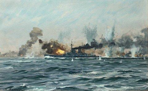Bergen Claus Friedrich. Линкоры в бою.