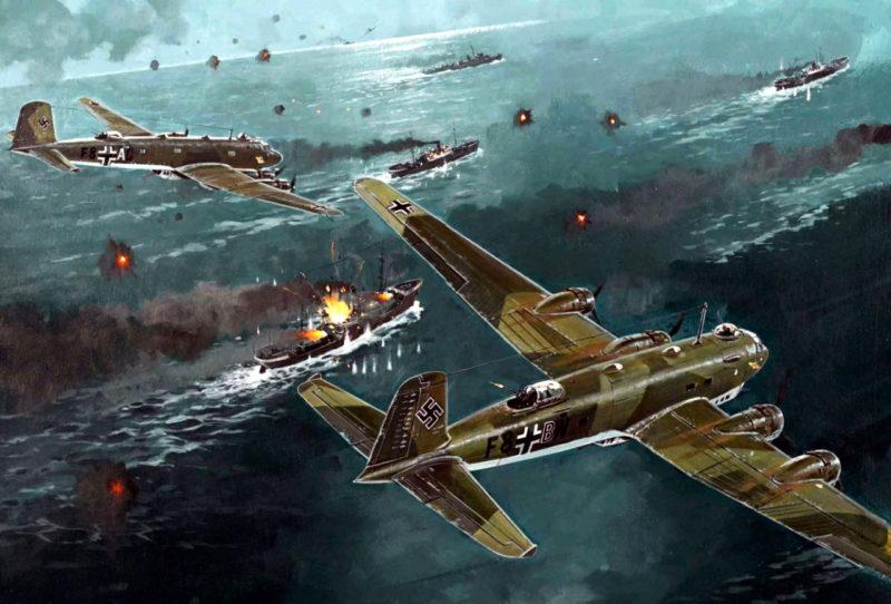 Howard Gerrard. Бомбардировщик Fw-200 «Condor».