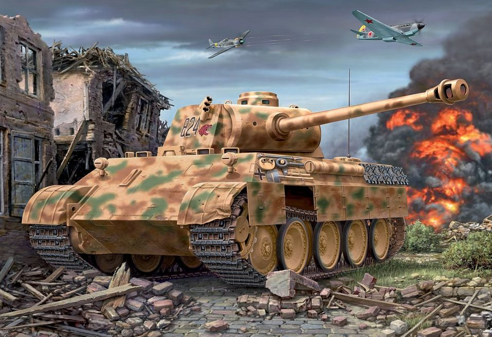Klawek G. Танк Pz.Kpfw. V Ausf. D.