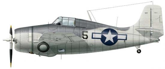 Dekker Thierry. Истребитель Grummann F4F-4 «Wildcat».