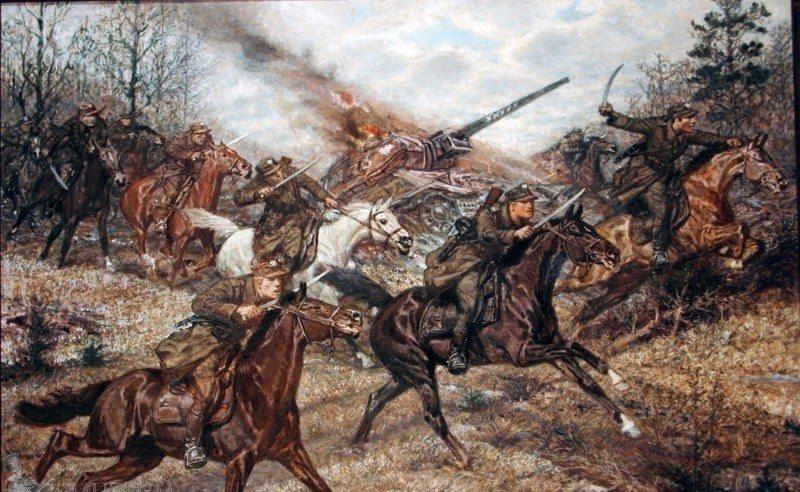 Былина Михаил. Последняя атака польской кавалерии.