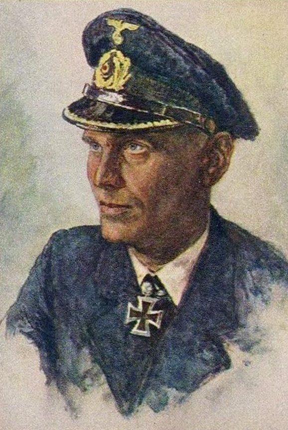 Oskar Graf. Портрет Joachim Schepke.