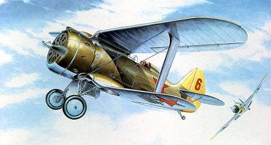 Hugault Romain. Истребитель И-153.