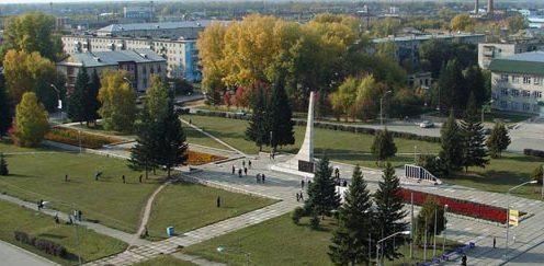 г. Новоалтайск. Обелиск Скорби и Славы.