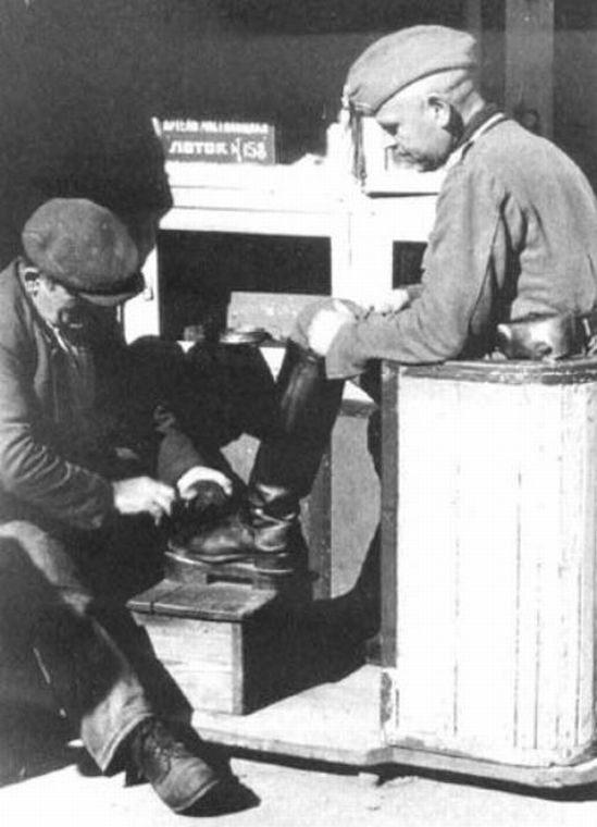 Чистильщик обуви.