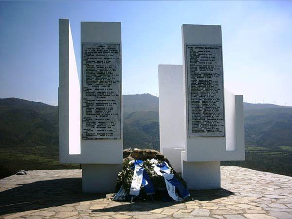 Памятник защитникам форта.
