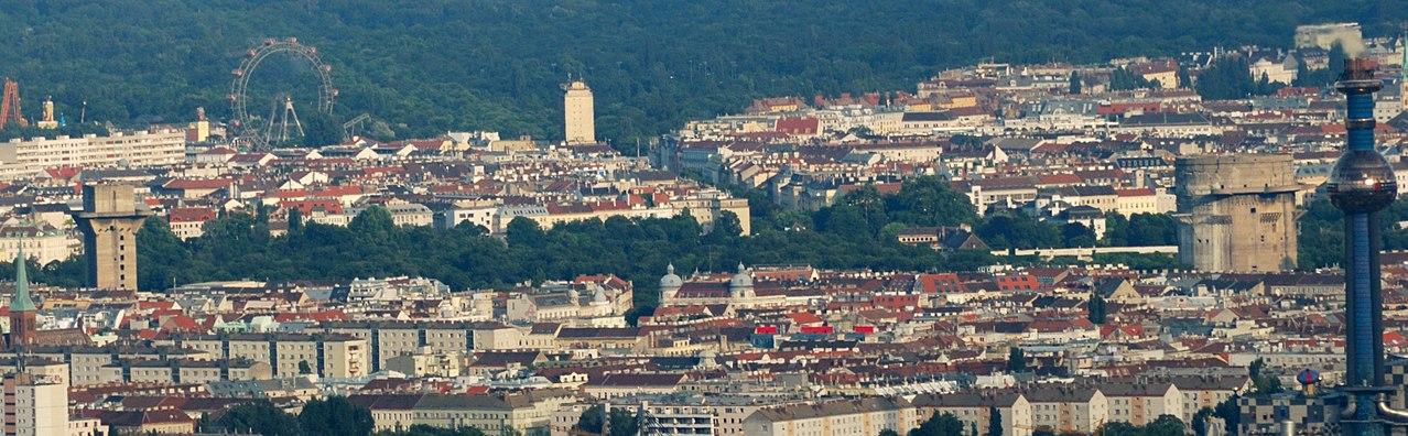 Зенитные башни в Аугартене, Вена.