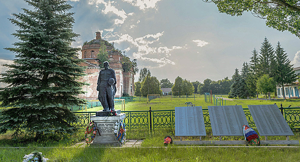 г. Клайпеда. Братская могила и мемориал солдатам 16-й литовской Клайпедской Краснознаменной стрелковой дивизии.