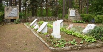 Общий вид братского кладбища.