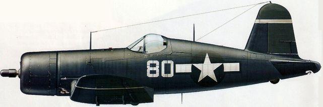 Dhorne Vincent. Истребитель F-4U-1D «Corsair».