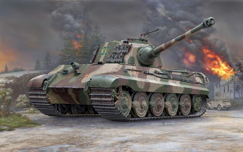Klawek G. Танк Tiger II Ausf.B.
