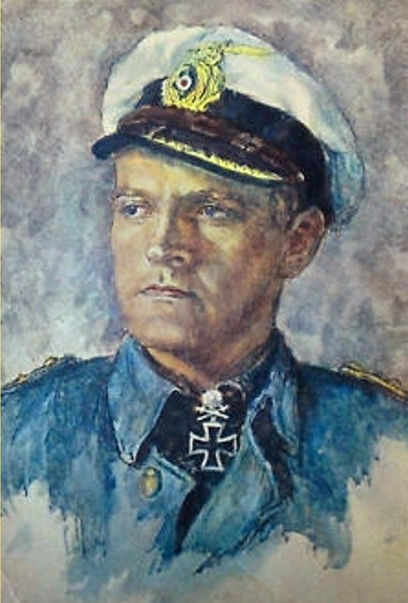 Oskar Graf. Портрет Erich Topp.