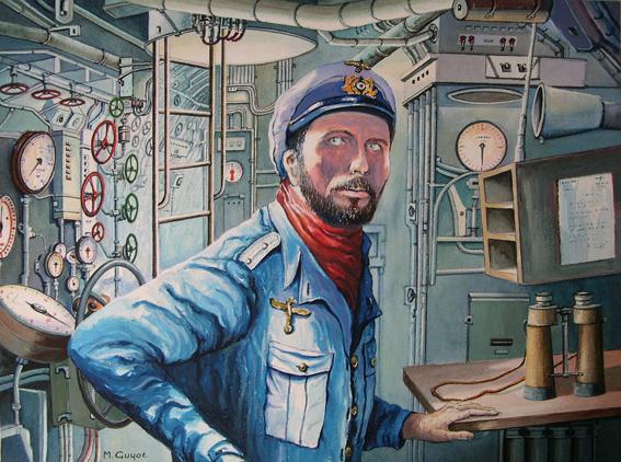 Guyot Michel. Капитан подлодки.