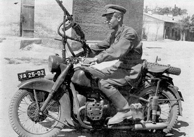 Мотопехота. 1939 г.