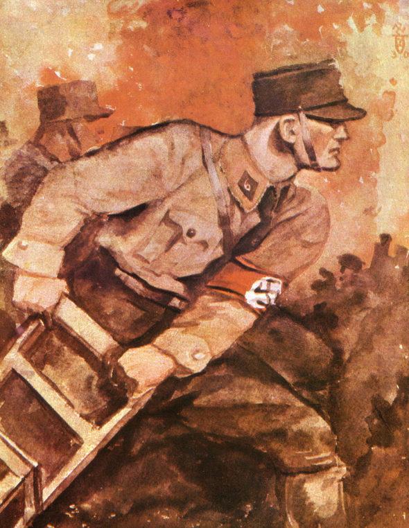 Albrecht Felix. Штурмовики СА.