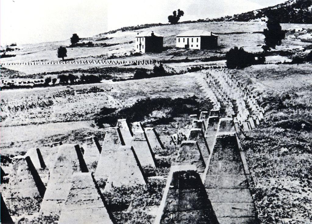 Противотанковые сооружения Линии Метаксаса. 1941 г.